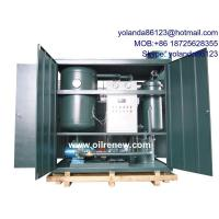 China Weather Proof House Type Vacuum Turbine Oil Purification System | Turbine Oil Recycling wholesale