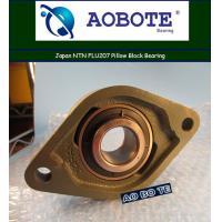 Quality Japan NTN FLU207 Pillow Block Bearing Single Row ABEC-5 For Machinery for sale