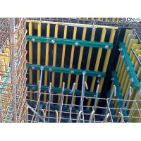 China Retaining Wall Formwork Economic Simple Timber Beam Formwork For Curve wholesale