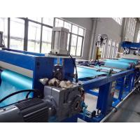 China PVC Soft Sheet Extrusion Machine , Flexible PVC Sheet Extrusion Production Line on sale