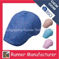 China Customed Peaked Blue Ivy Cap Wholesale wholesale