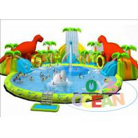 Quality Colorful Inflatable Floating Water Park / Kids Inflatable Water Games For for sale