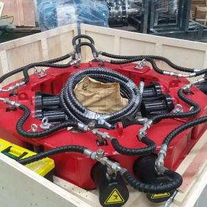 China OEM 8 Modules Pile Cutting Equipment , 20pcs Excavator Breaker Attachment on sale