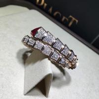 China BVLGARI  brand  jewelry BVLGARI bracelet in 18 kt pink gold with diamonds Also available in white and yellow gold wholesale