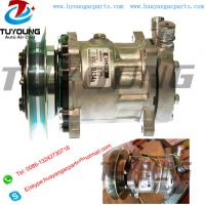 China auto ac compressor sanden 7H15 U 4745 24V R134A 1pk on sale
