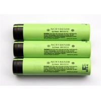 China Cylindrical 3.6 V Rechargeable Battery / Lithium 18650 Battery , 18*65mm wholesale