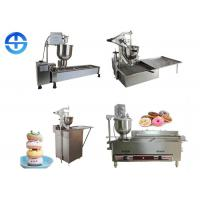 China Stainless Steel Automatic Mini Donut Machine , Commercial Donut Making Machine on sale