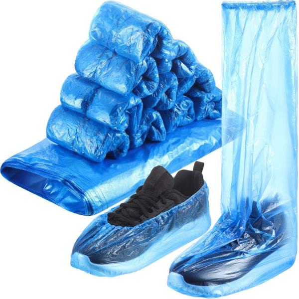 Quality Long Disposable Booties Adults PPE Personal Protective Equipment for sale