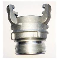 China EN 14420-8 Aluminum Gravity Casting  with female thread and lock ring wholesale