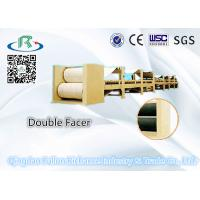 China Used for Production LineCorrugated Paper Cardboard Double Facer Carton Machine wholesale