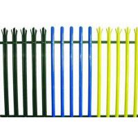 China Colorful Triple Pointed Palisade Steel Security Fencing Anti Theft With Low Carbon Steel wholesale