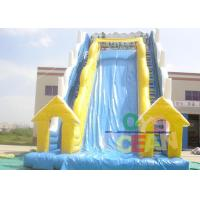 China Gaint Inflatable Water Slide With Stairs For Children Water Park wholesale