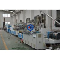 China BOGDA PVC WPC floor skirting board foam baseboard extruder PVC profile extruder machine on sale