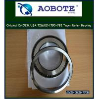 China Stainless Steel Timken / SKF Tapered Roller Bearing to CNC machine 795 / 792 wholesale