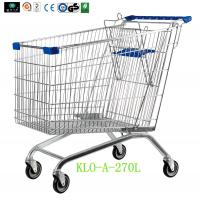 Wholesale European Supermarket Purchase Shopping Carts For Seniors 270L / Metal Shopping Trolleys from china suppliers