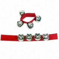 China Jingle Bells Bracelet with Nice Finishing Touch and Full-mouthed Ringing wholesale