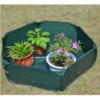 China Pop Up Raised Garden Plant Accessories Bed120gsm PE, 210D oxford PVC coated, 1.2x4mm steelwire rods  121x121x30cm wholesale