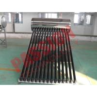 China Household Integrated Heat Pipe Solar Water Heater 150 Liter OEM Acceptable wholesale