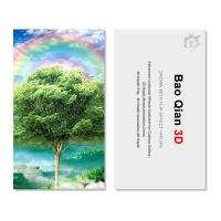 China Customized Logo 3D Lenticular Card / Shaped Stand Holographic Business Cards wholesale