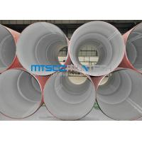 China 304 / 316 Annealed Pickled Welded Stainless Steel Pipes , Industrial Pipe wholesale