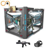 China Children shooting 9d vr simulator with htc vive from 9d vr supplier on sale