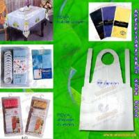 China PEVA/PVC Tablecloth, Table Cover, Poncho on sale