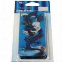 China 3-D Cover for iPhone 4, Made of Plastic, Undersea World Design, Safe and Non-toxic wholesale