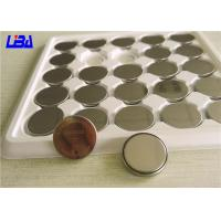 China Duration 1280h 3v Lithium Battery , High Drain Cr2032 Rechargeable Button Cell Batteries wholesale