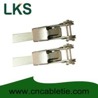 China LKS-400mm Universal Stainless Steel Clamping Ties wholesale