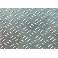 China 1300mm Maximum 3 Bar Aluminum Tread Plate Alloy 1100 H24 1.0mm - 6.35mm wholesale