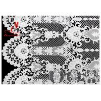 China Allover Floral Embroidered Lace Fabric French Venice Guipure Lace Via SGS & OEKO wholesale