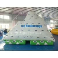 China One Side Sliding and Three Sides Climbing Inflatable Water Iceberg wholesale