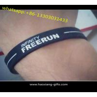 Quality Wholesale Colorful Silicone Wristband/bracelt for Promotional Advertising Gift for sale