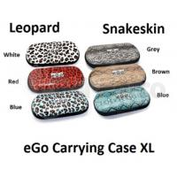 China Newest design Leopard and Snakeskin eGo Carry case with factory price wholesale