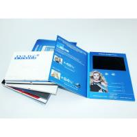 China VIF 2018 Promotion Gift Video Greeting Book Card Customimed LCD Video Brochure 7 inch 512M For Business wholesale