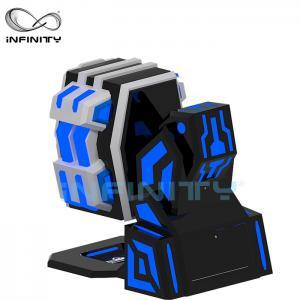 China Fiberglass 9D Virtual Reality Simulator Rotating Equipment / 360 King Kong 9DVR Cinema wholesale