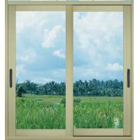 China Silver white fly screen, mosquito net powder coated aluminum sliding glass doors wholesale
