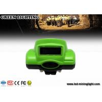 Quality CREE led Mining Cap Lights , Underground Cap Lamps rechargeable lithium ion battery for sale