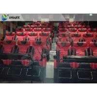 Buy cheap Motion Chair 4D Cinema System Metal Flat Screen / Arc Screen 4D Movie Theater from wholesalers