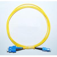 China OEM SC/APC-SC/APC Singlemode Fiber Optic Patch Cord in communication equipment wholesale