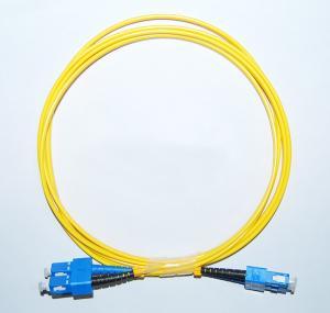 China OEM SC/APC-SC/APC Singlemode Fiber Optic Patch Cord in communication equipment wholesale