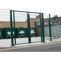 China 868 / 656 Welded Wire Panels Double Wire Guard Fencing Eco Friendly 100mm x 50mm wholesale