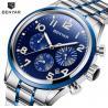 Buy cheap Benyar Men Stainless Steel Band Waterproof 30m Chronograph Quartz Wrist Watch from wholesalers