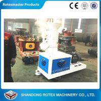 China 500Kg/h Well working Pine Biomass wood pellet machine , flat die pellet press wholesale