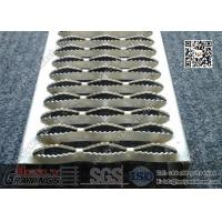 China Metal Safety Grating With Serrated Surface, Shark Mesh Grating wholesale