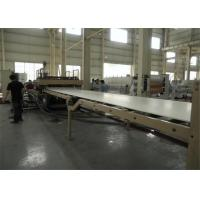 China Construction Wpc Board Production Line , Pvc Skinning Foam Board Production Line wholesale