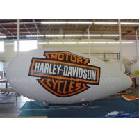 China  Indoor Inflatable Air Ship Balloon Huge RC Helium Advertising Blimps  for sale
