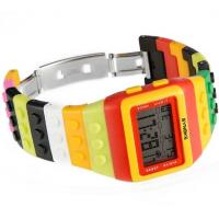Quality Wholesale Synoke Children New Concept Rainbow Digital Watch LED Students Wrist for sale