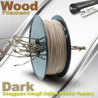 China Anti Corrosion Wooden Filament For 3D Wood Printing Material 1.75mm / 3.0mm wholesale