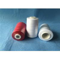 China Plastic Cone Multi Colored Sewing Thread For Sewing Machine With 100% Polyester Fiber on sale